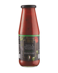 Passata with Basil and  Oregano