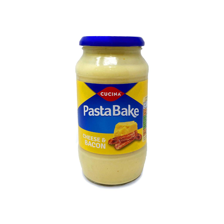 Pasta Bake Cheese & Bacon