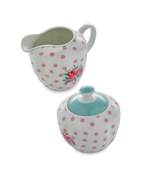 Pastel  Milk Jar & Sugar Pot Set