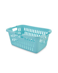 Pastel Green Laundry Basket