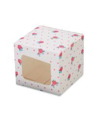 Pastel Individual Cupcake Boxes