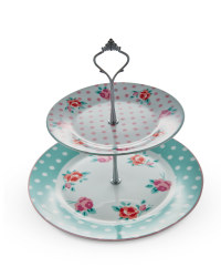 Pastel Porcelain Cake Stand
