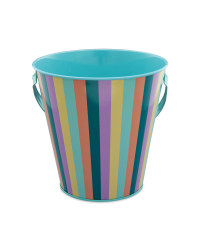 Pastel Stripes Egg Hunt Tin