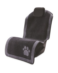 Pet Collection Paw Car Seat Cover