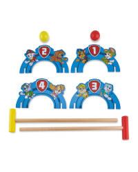 Paw Patrol Croquet Set