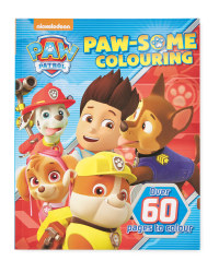 Paw Patrol Paw-Some Colouring Book