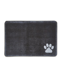 Paw Print Washable Pet Boot Mat