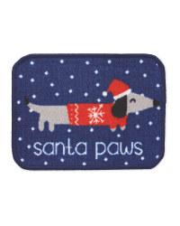 Santa Paws Dog Washable Pet Mat