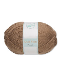 So Crafty Peanut Aran Yarn