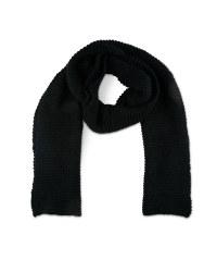Black Ladies Knitted Scarf