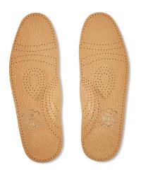 Pelotte Latex Heel Leather Insoles