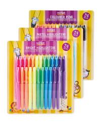 Script XL Pen Multipack 72 Pack