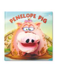 Penelope Pig Hand Puppet Book