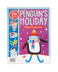 Penguin's Holiday Sticker Book