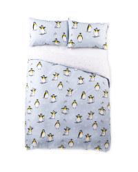 Penguin Double Novelty Duvet Set