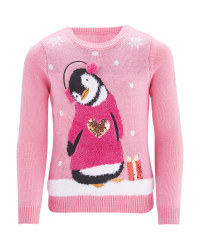 Kid's Penguin Premium Jumper