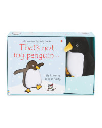 Penguin That's Not My Book & Plush