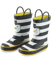 Lily & Dan Kids Penguin Wellies