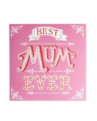 Penny Pot Studios Best Mum Ever Card