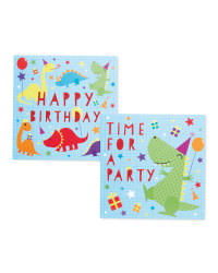 Penny Pots Dinosaur Party Cards