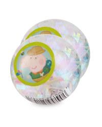 Peppa Pig Flashing Ball 2 Pack