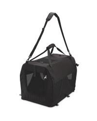 Pet Carrier Handbag - Black