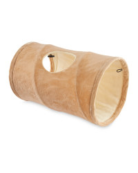 Pet Collection Cat Tunnel - Beige
