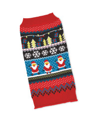 Pet Collection Fairisle Pet Jumper