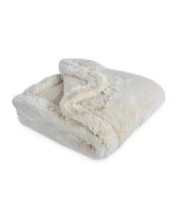 Pet Collection Faux Fur Pet Blanket - Natural