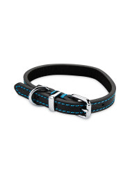 Pet Collection Leather Collar - Black