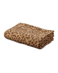 Pet Collection Leopard Blanket