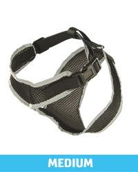 Pet Collection Mesh Pet Harness - Black