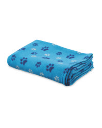 Pet Collection Paw Prints Blanket