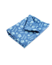 Pet Collection Paws Off Blanket