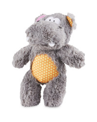 Pet Collection Plush Hippo Dog Toy