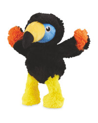 Pet Collection Plush Puffin Dog Toy