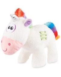 Pet Collection Plush Unicorn Dog Toy