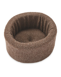 Pet Collection Round Cat Bed - Coco