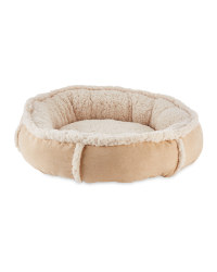 Pet Collection Small Pet Bed - Brown