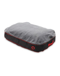 Pet Collection Waterproof Pet Bed - Red/Black