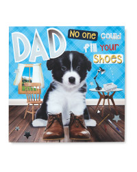 Pet Father's Day Card