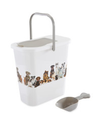 Pet Collection Dog Food Container