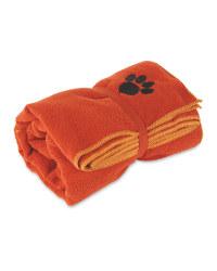 Pet Collection Orange Pet Towel