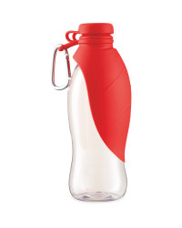 Pet Travel Water Bottle - Red