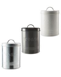 Pet Treats Storage Tin