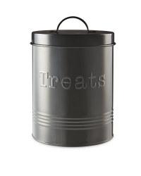 Pet Treats Storage Tin - Black