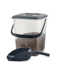 Pet Food Container - Black