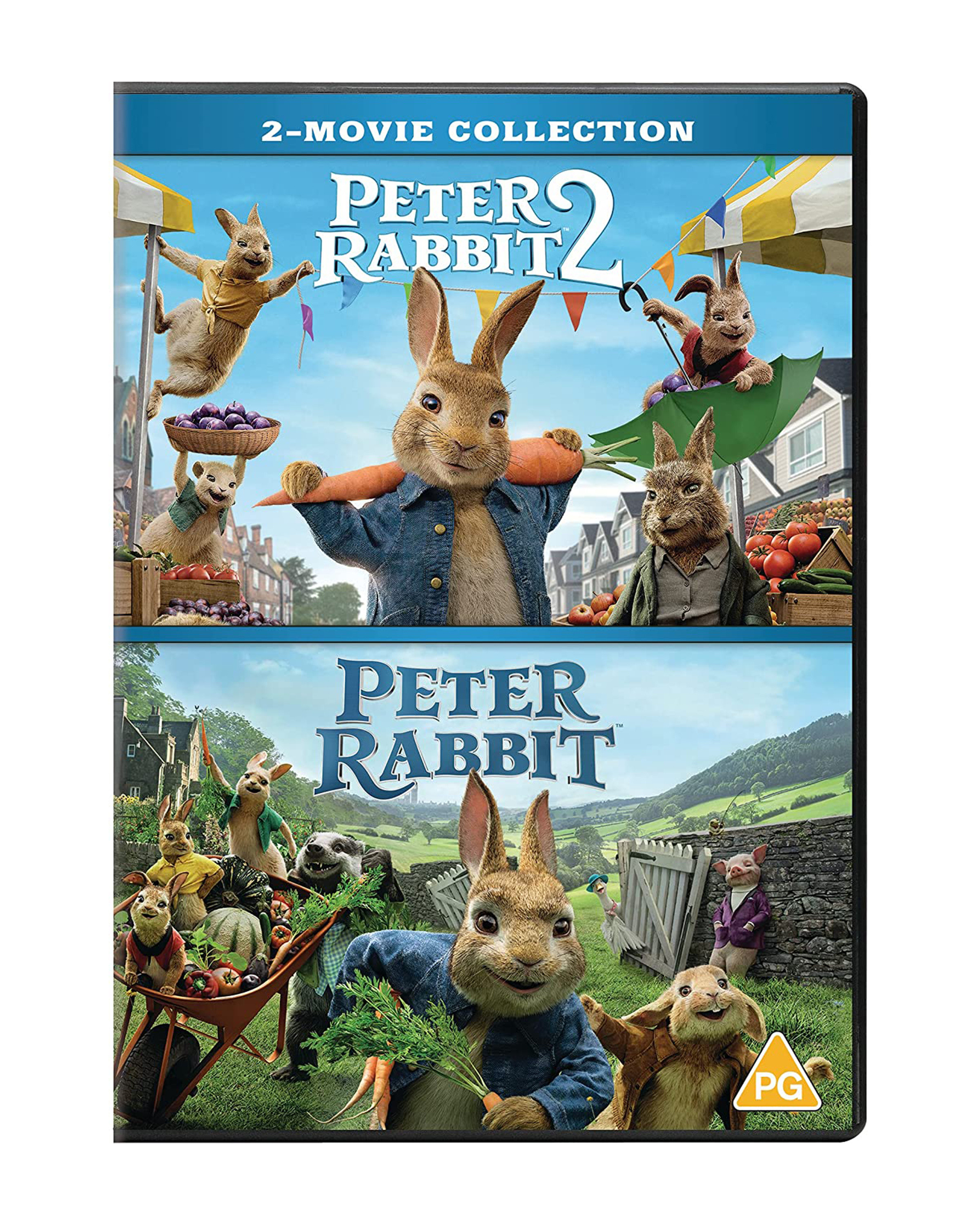 Peter Rabbit 1 & 2 DVD Collection