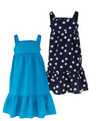 Petrol & Navy Summer Dresses 2 Pack