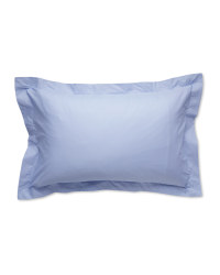 Cooling Oxford Pillowcase Pair - Blue